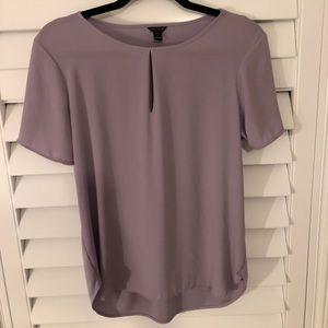 Ann Taylor Lavender blouse Size S